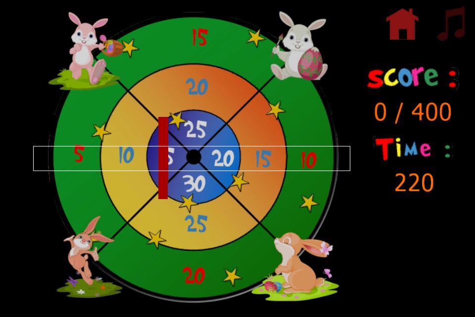 Screenshot Rabbits and darts for children